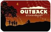 OUTBACK Gift Cards STEAKHOUSE GIFT CARD